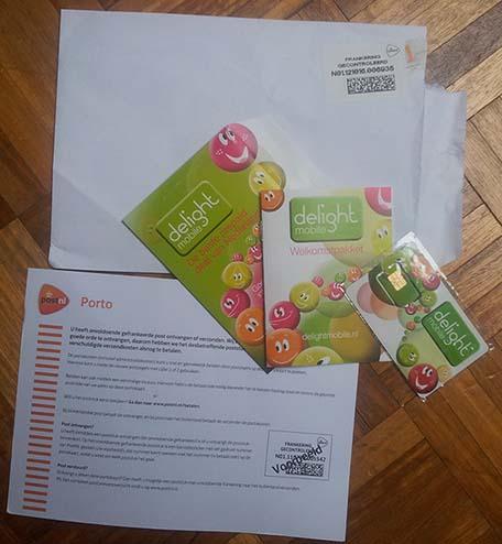 Delight prepaid pakket