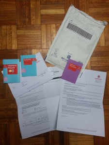 Vodafone prepaid pakket