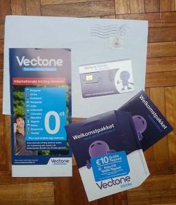 Vectone mobile simkaart starterspakket (Prepaid)