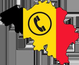 Logo goedkoop bellen naar belgie
