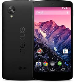 Google LG Nexus 5 telefoon