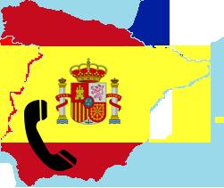 Goedkoop bellen naar Spanje Logo