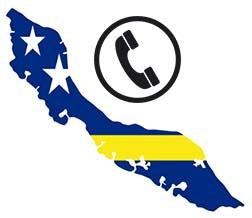 Goedkoop bellen naar Curacao Logo