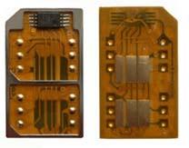 Duo simkaart adapter enkel