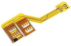Triple simkaart adapter