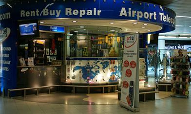 Airport telecom winkel