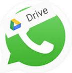 whatsapp-gekoppeld-met-google-drive-logo