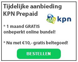 KPN prepaid aanbieding