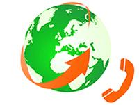 Goedkoop bellen naar het buitenland - Logo