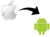 Foto's overzetten van Apple (iOS) naar Android
