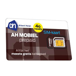 AH prepaid mobiel
