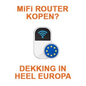 MiFi router Europa kopen