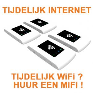 mifi huren - tijdelijk internet