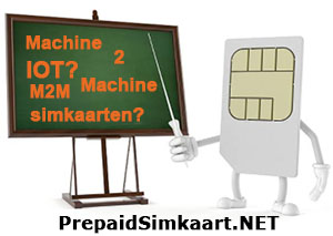 machine to machine simkaart - M2M - IOT