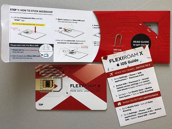 flexiroam data simkaart