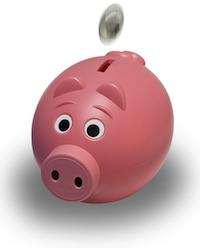 goedkoper met prepaid is besparen - spaarvarken