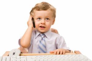 kinderen mobiele telefoon